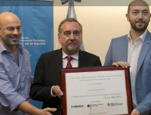 Un profesor del DC obtuvo el premio a la innovación en salud